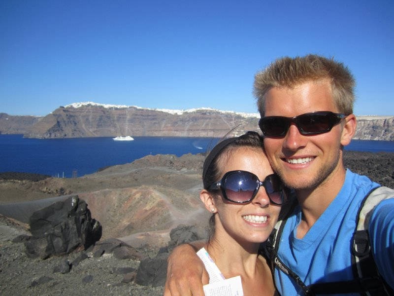 On the Santorini Volcano, Nea Kameni