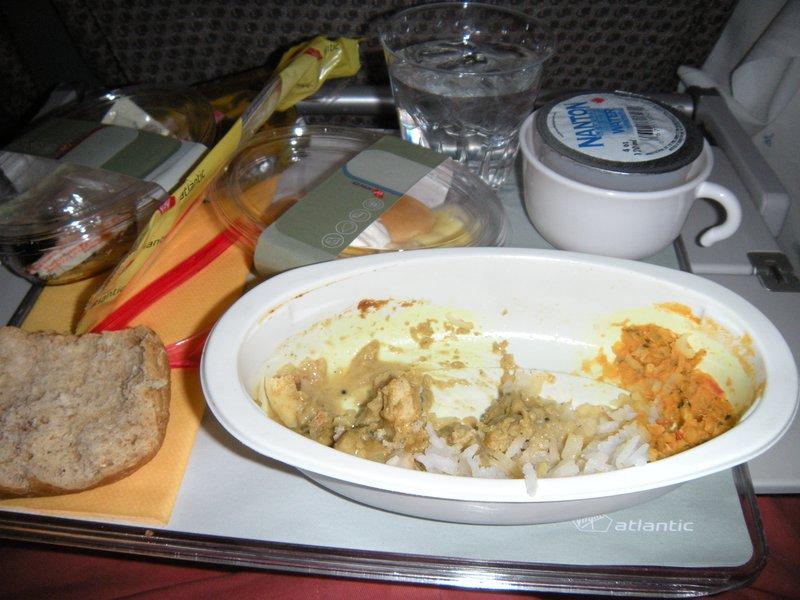 Decent Meal on Virgin Atlantic