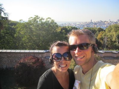 Us at Topkapi Palace