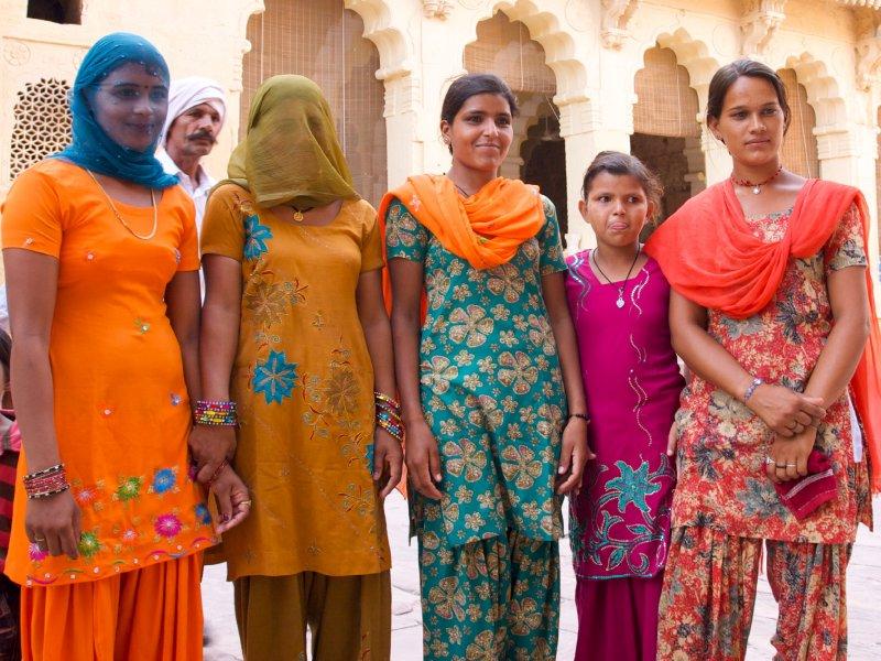Colours!...  Mehrangarh Fort, Jodhpur, India