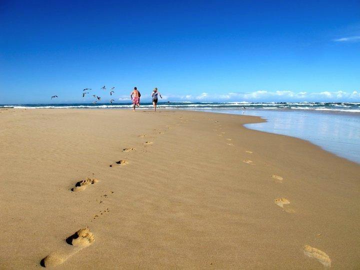 Sardinia Bay footprints