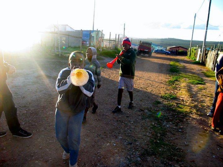 Vuvuzela Kids!