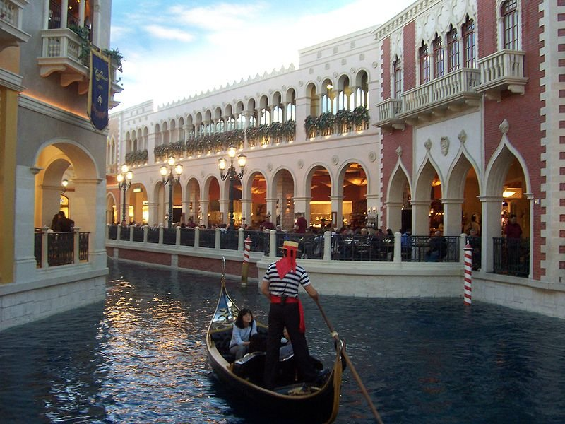 Gondola Rides at Venetian Las Vegas