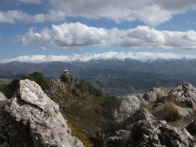 Sierra Nevada in distance