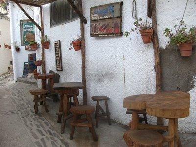 Bar in the Alpujarras