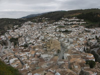 Montefrio from the Castle