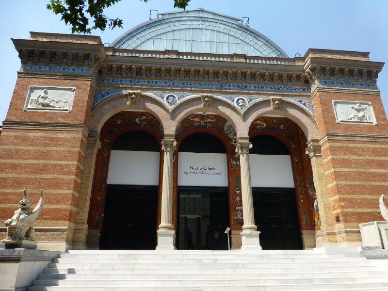 Velazquez Museum in Retiro Park