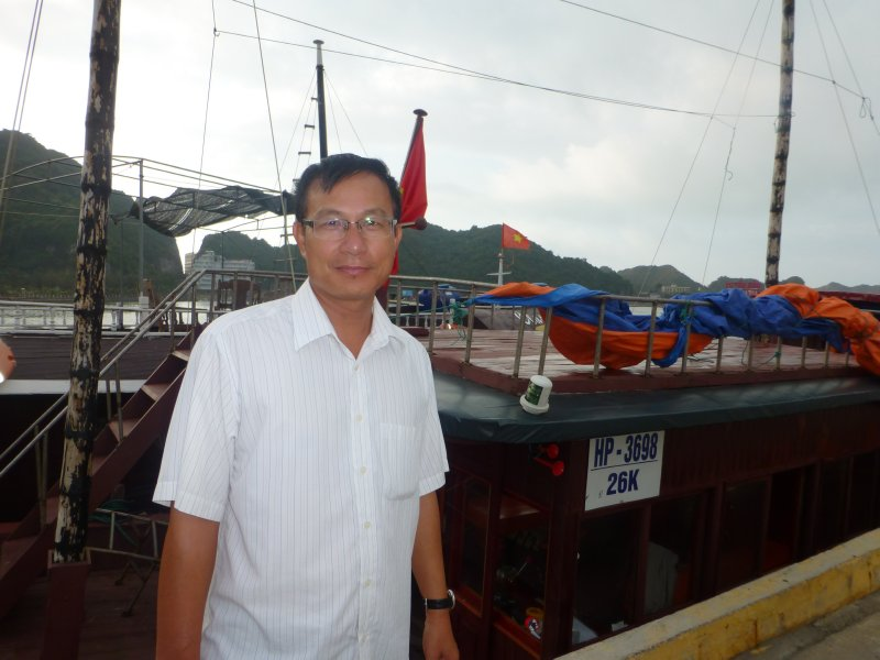 Mr. Tu (Our very charismatic tour operator)