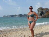Enjoying the Beach at Monkey Island