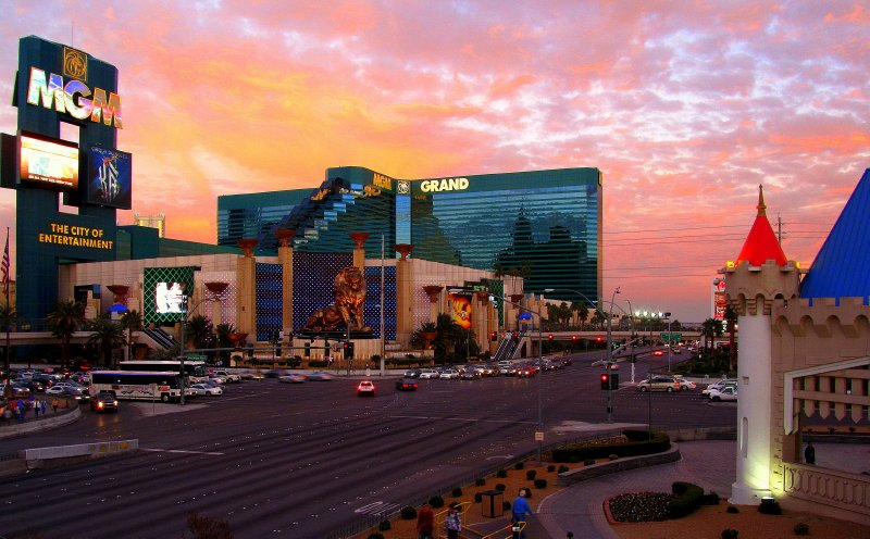 MGMGrand Sunset