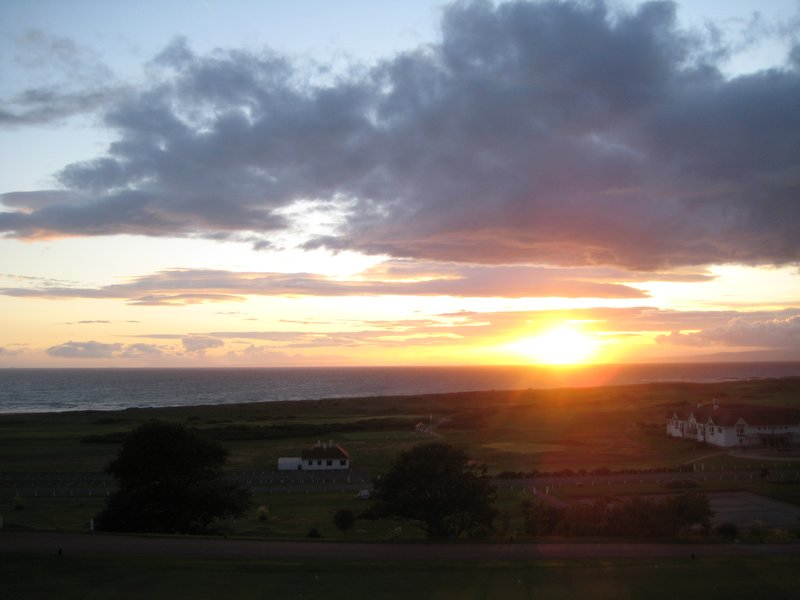 Sunset at Turnberry