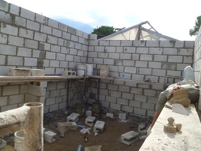 Building the House (final Stages)