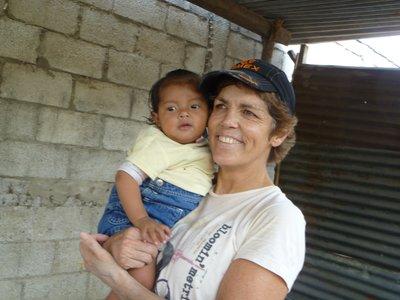 Kika and baby Marianna