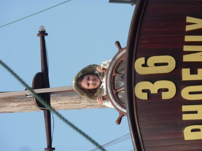 Me on the Boat ahaha