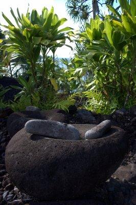 Ancient Tools at Kahunu Gardens