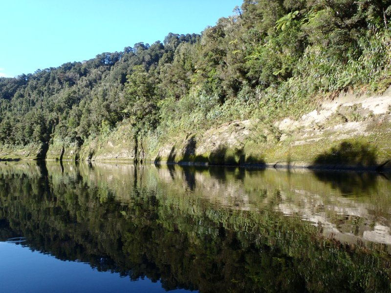 Reflections in Whanganui River