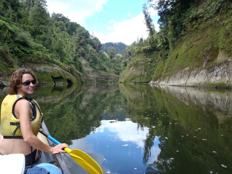 Floating Along the Whanganui River