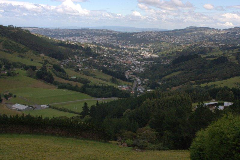 View of Dunedin