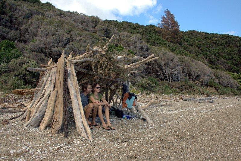 Driftwood Hut
