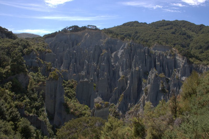 View of Putangirua Pinnacles
