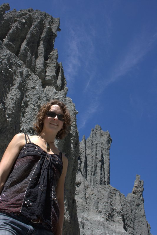 Julie and Putangirua Pinnacles