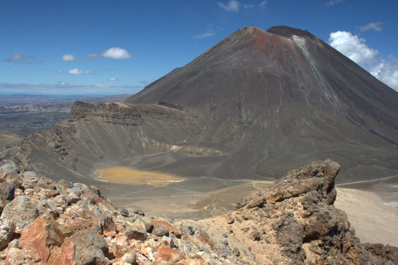 South Crater and Mt. Ngauruhoe (Mt. Doom)