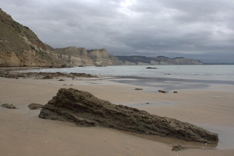 Looking Along Coast from Cape Kidnappers