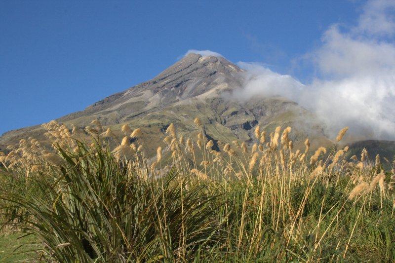 Mt. Taranaki from Ergmont Visitor Centre