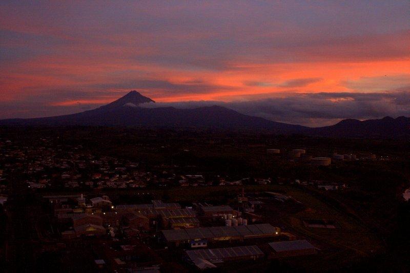 Mt. Taranaki Sunset