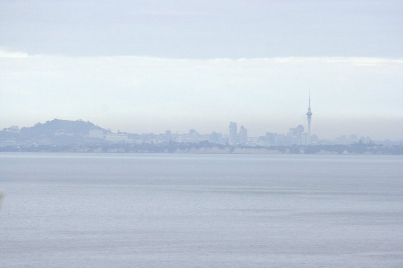 View of Auckland from Tiritiri