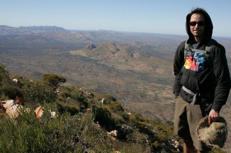 Atop Mt. Sonders