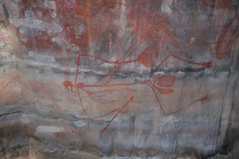 Warriors Rock Art