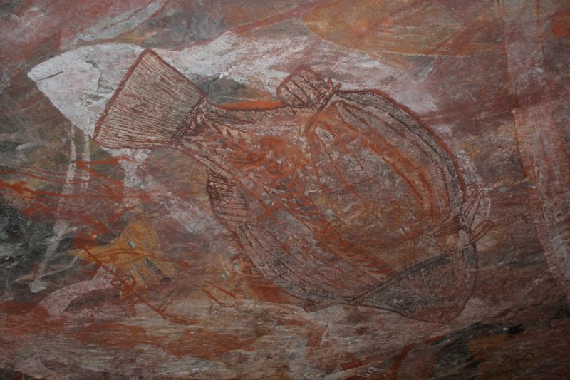 Barramundi Rock Art