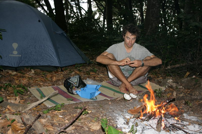 Breakfast at Cedar Bay