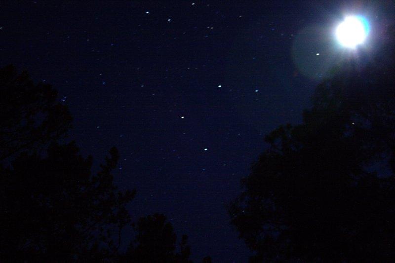 Moon at Hosmer Groove