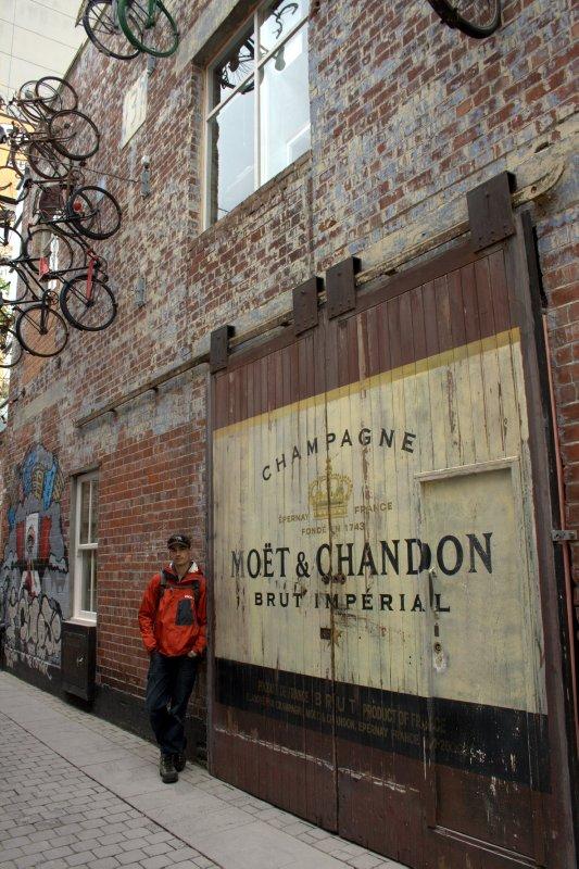 Old Door at Pub Area