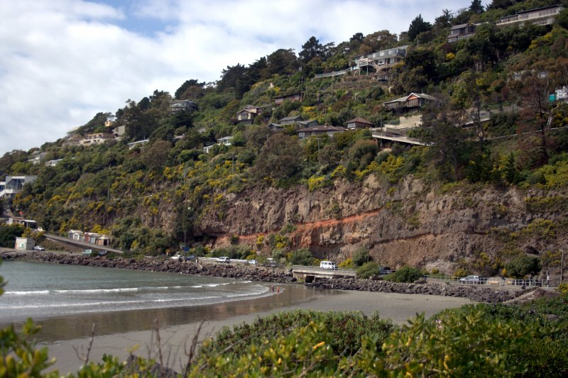 Sumner Beach and Cliff Houses