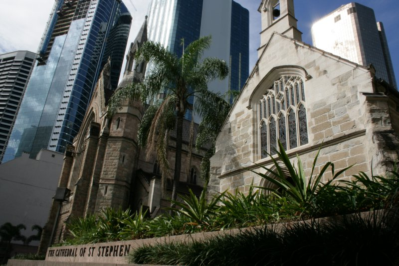 The Cathedral of St. Stephen in Brisbane