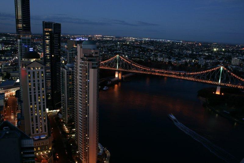 Brisbane from Dan's Condo