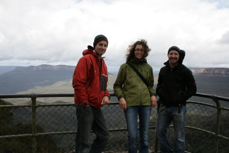 Nate Julie and Matt in Katoomba