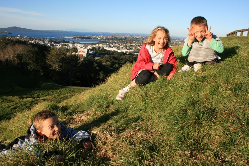 Kade, Ava, Kian - The Kids of Jonah and Delia - Who We Stayed with in Auckland