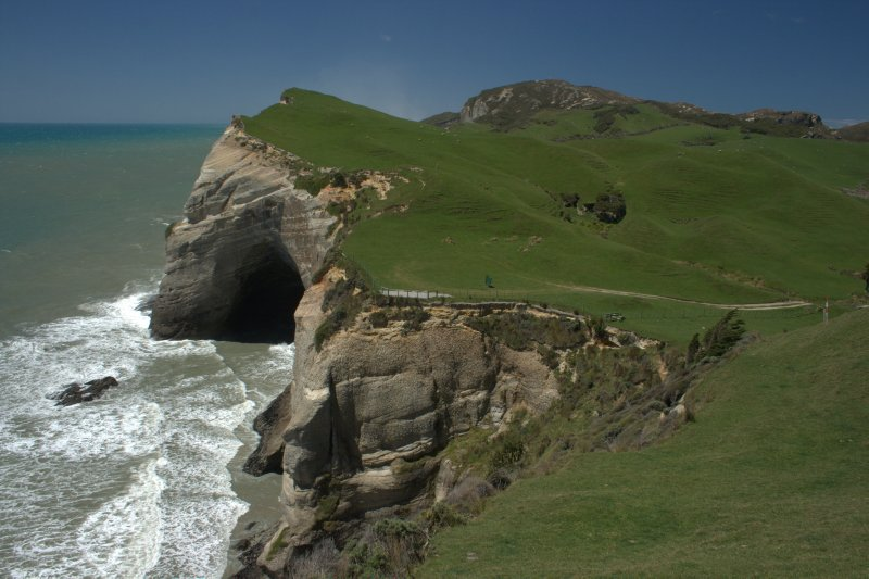 Cape Farewell Ocean Cliffs