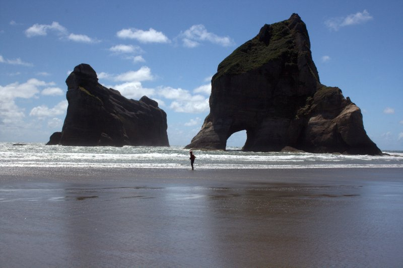Wharariki Beach and Arch Islands