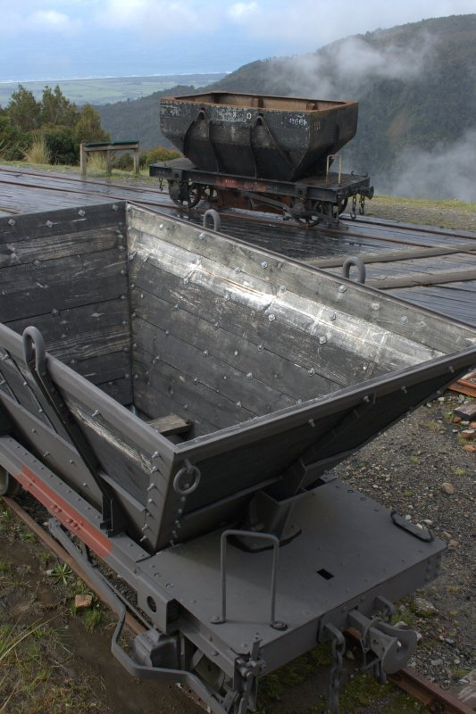 Coal Relics At Denniston Incline