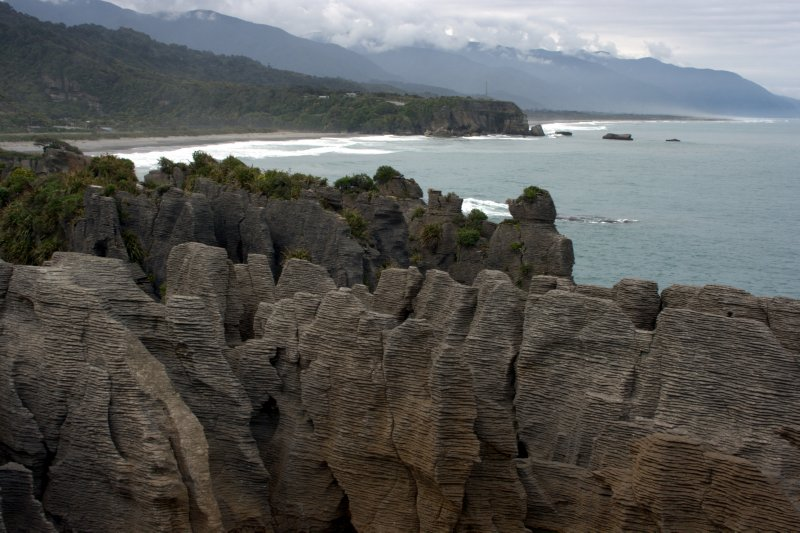 Pancake Rock at Punakaiki