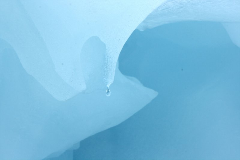Blue Ice Formations