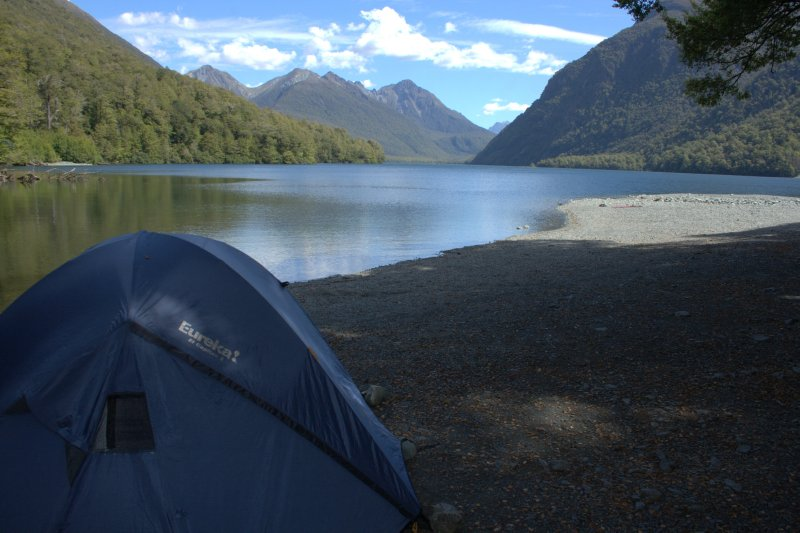 Camping at Lake Gunn