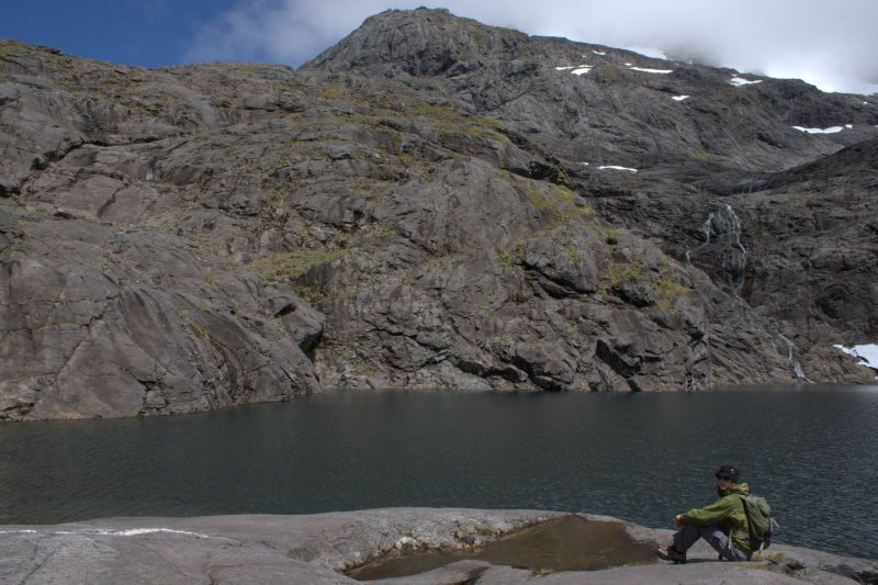 Black Lake at top of Gertrude Valley