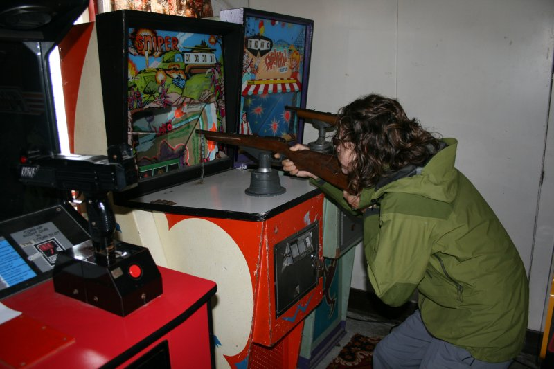 Vintage Arcade at Manapouri Lakeview Chalets