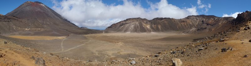 South Crater with Mt. Doom
